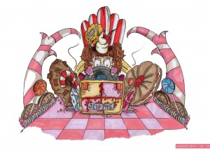 UberQuirky Gallery, candy racer
