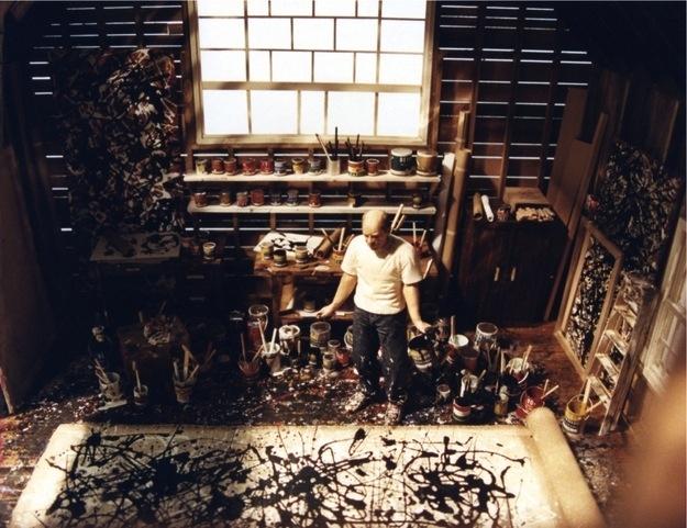 Jackson Pollock's creative workspace enhanced-buzz-17057-1366045735-13