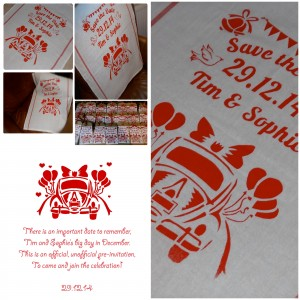 UberQuirky Gallery, wedding favours, tea towels