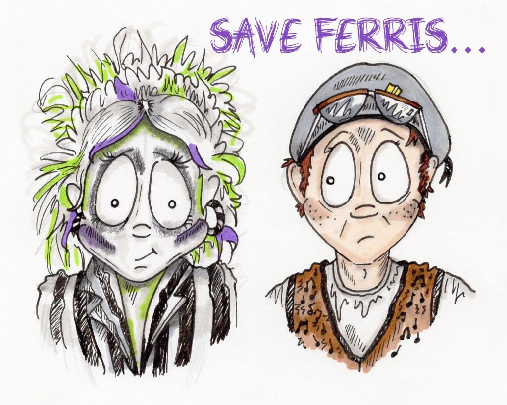 Beetle & Ferris Party Ideas