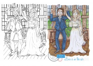 UberQuirky Gallery, wedding portrait gift
