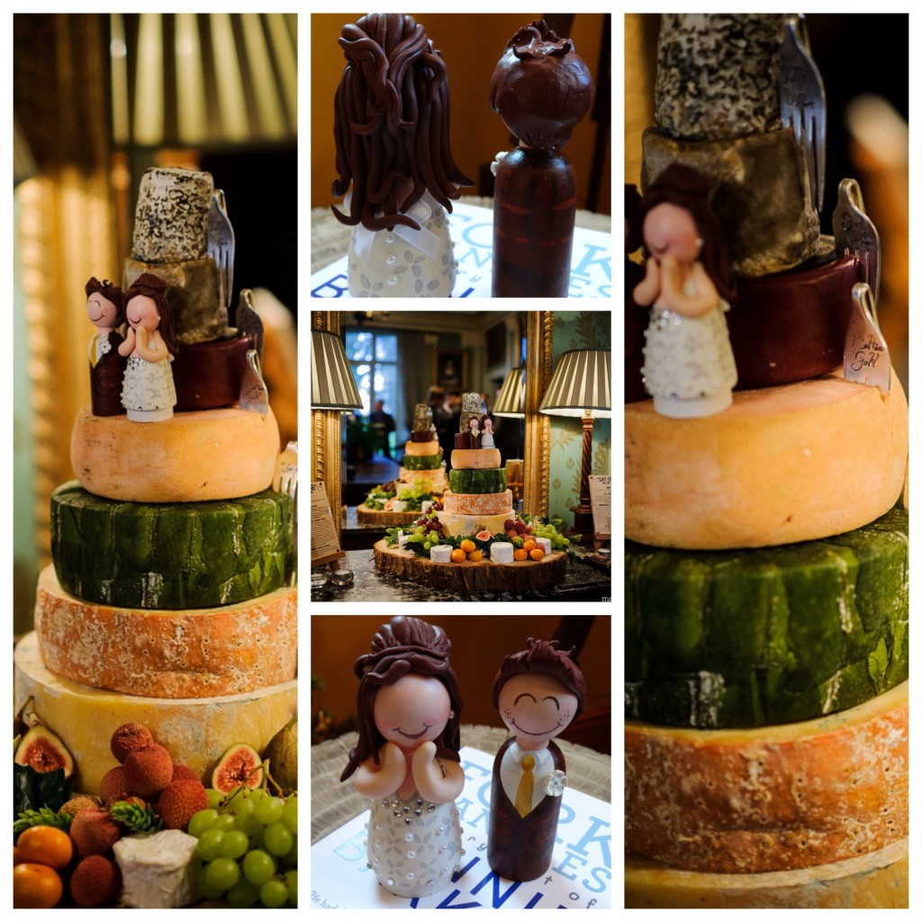 Wedding ideas, cake of cheese! (not cheese cake)