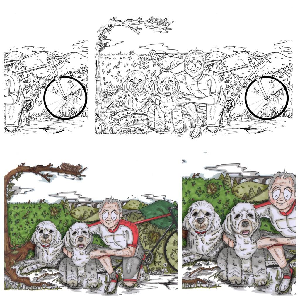 UberQuirky illustrations