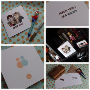 Dumb and Dumber Thank you card collage