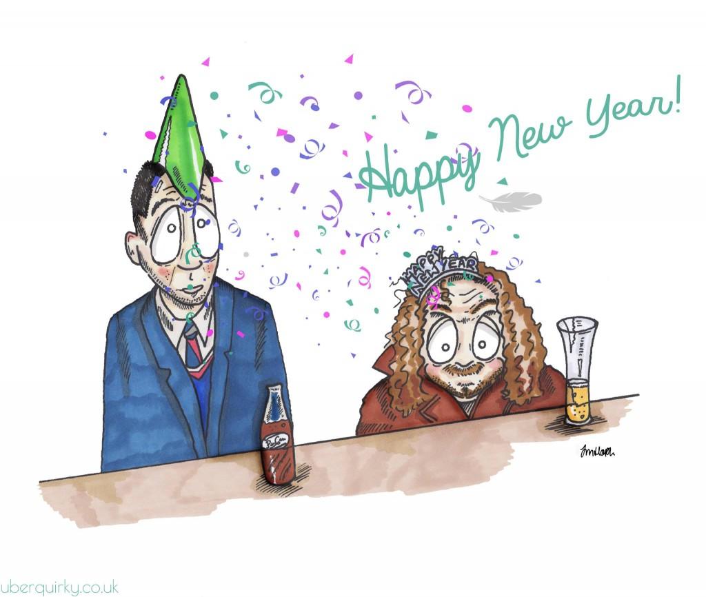 Forrest Gump New Year sketch